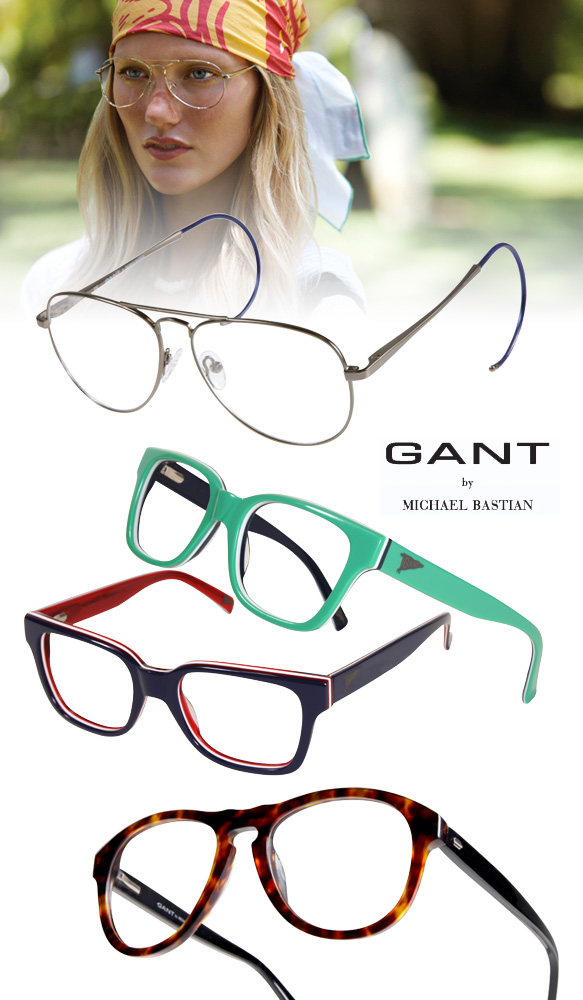 Look Spec-tastic for Summer in GANT Eyewear Eyecessorize