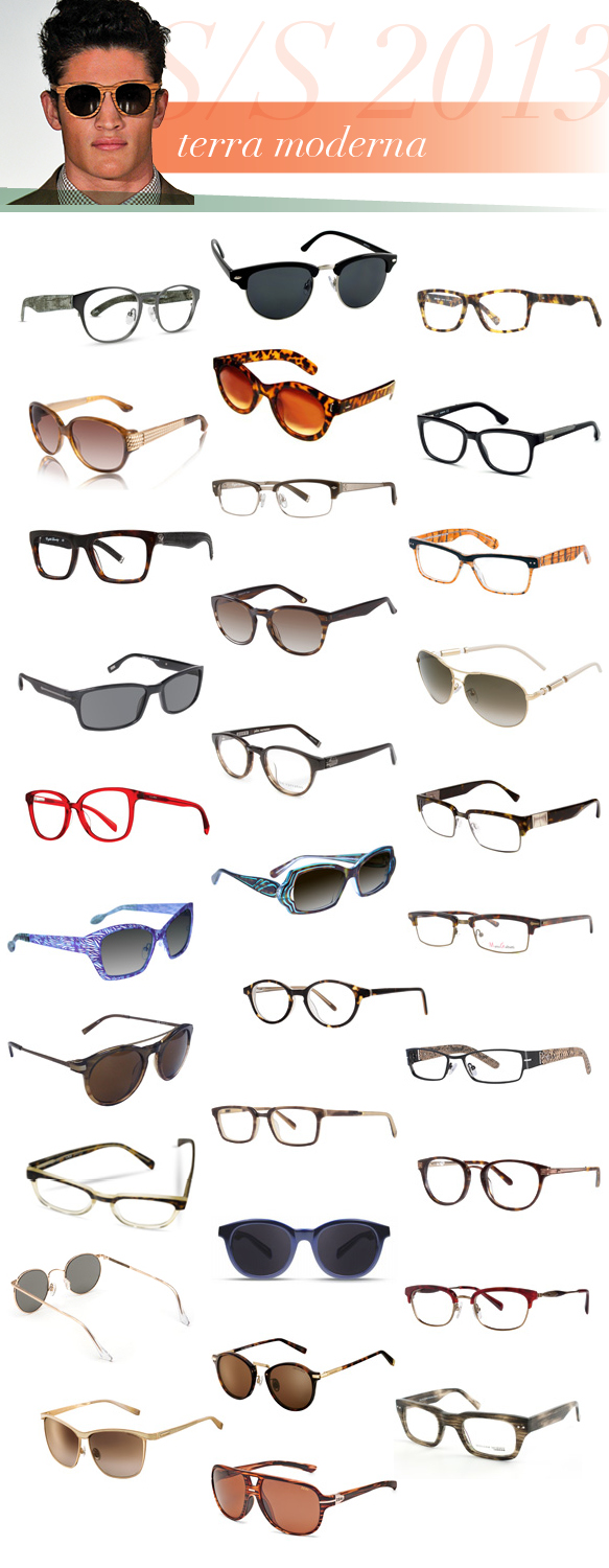 What S New For S S 2013 Eyewear Trends Eyecessorize