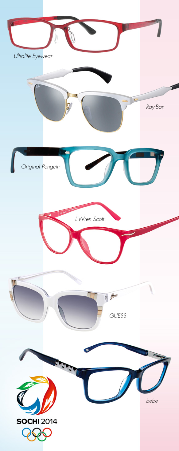 Ultralite Eyewear (U02), Ray-Ban (RB 3501), Original Penguin (The Hopper), L'Wren Scott (331000), GUESS (GU 7270), bebe (BB5058)