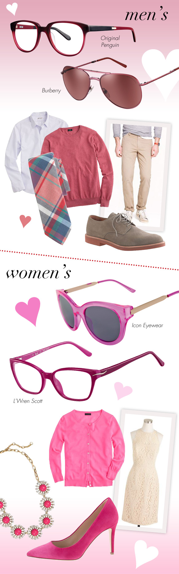 Original Penguin (The Collison), Burberry (BE 0371), Icon Eyewear (11377), L'Wren Scott (331005)