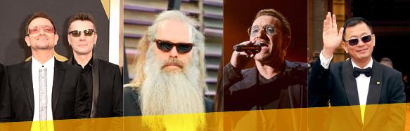 Bono, Larry Mullen Jr., Rick Rubin, Bono (again), Wong Kar-Wai
