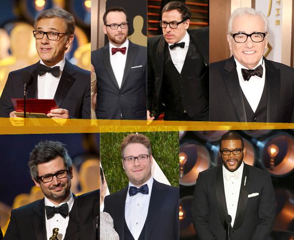 Christoph Waltz, Dana Brunetti, David O'Russell, Martin Scorsese, Niv Adiri, Seth Rogen, Tyler Perry