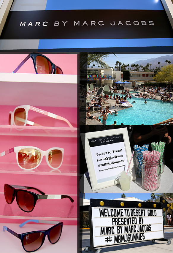 The Scene at the Marc by Marc Jacobs Event at Coachella