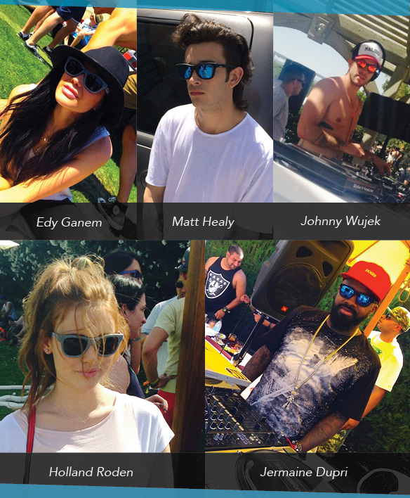 Stars Wearing Diesel's #DENIMEYE Specs and Shades at Coachella