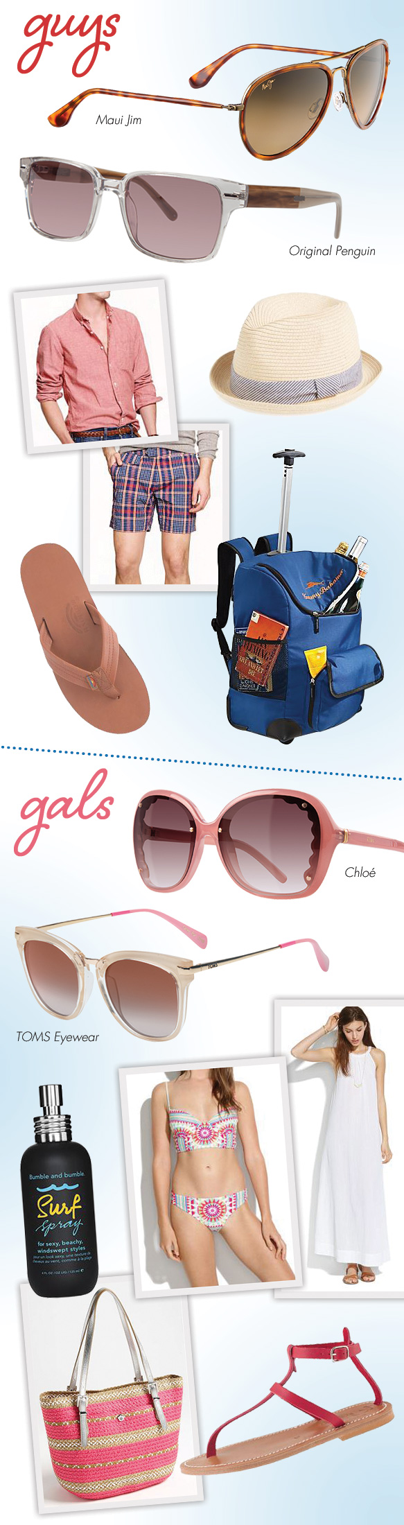 Maui Jim (Honomanu), Original Penguin (The Clancy), TOMS Eyewear (Adeline), Chloé (CE653S)