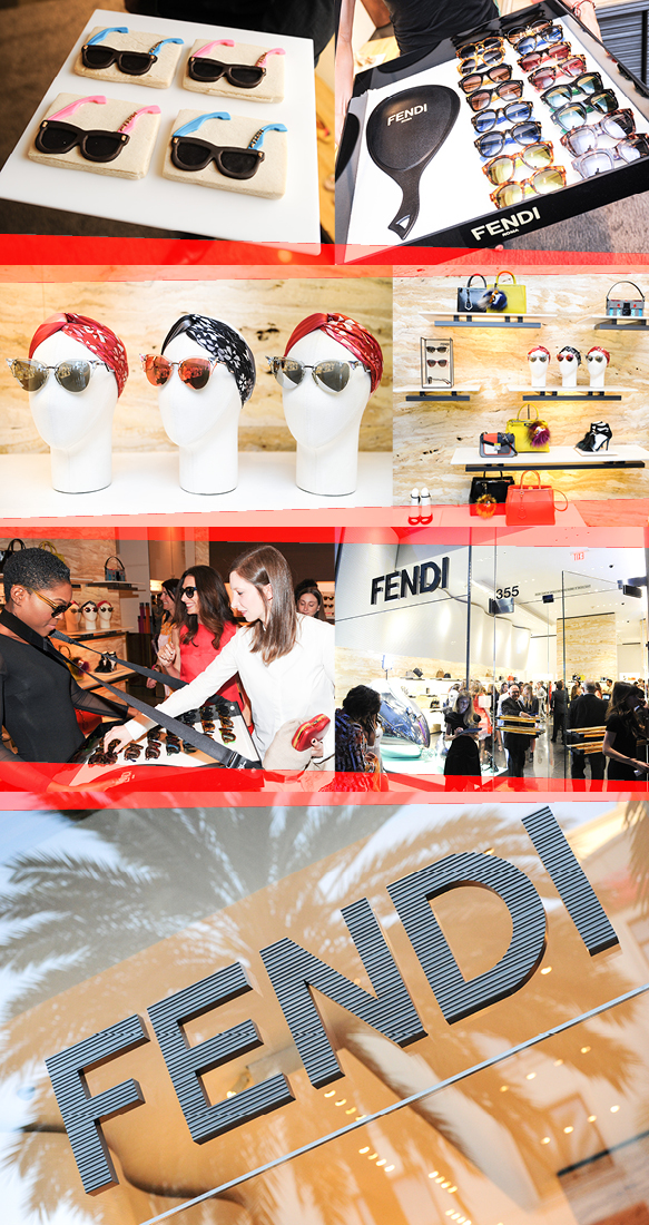FENDI's Event Space at its Beverly Hills Boutique