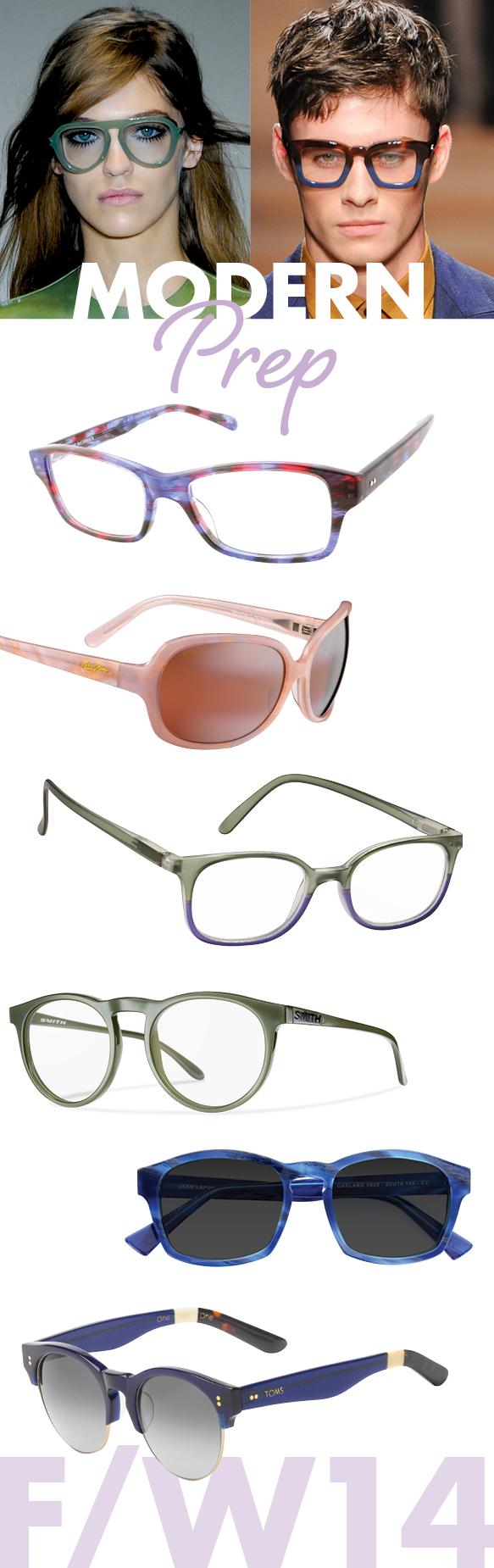 Corinne McCormack (Jess), Maui Jim (Rainbow Falls), ICU Eyewear (7391), Smith Optics (Maddox), Lafont (OAKLAND), TOMS (Charlie Rae)