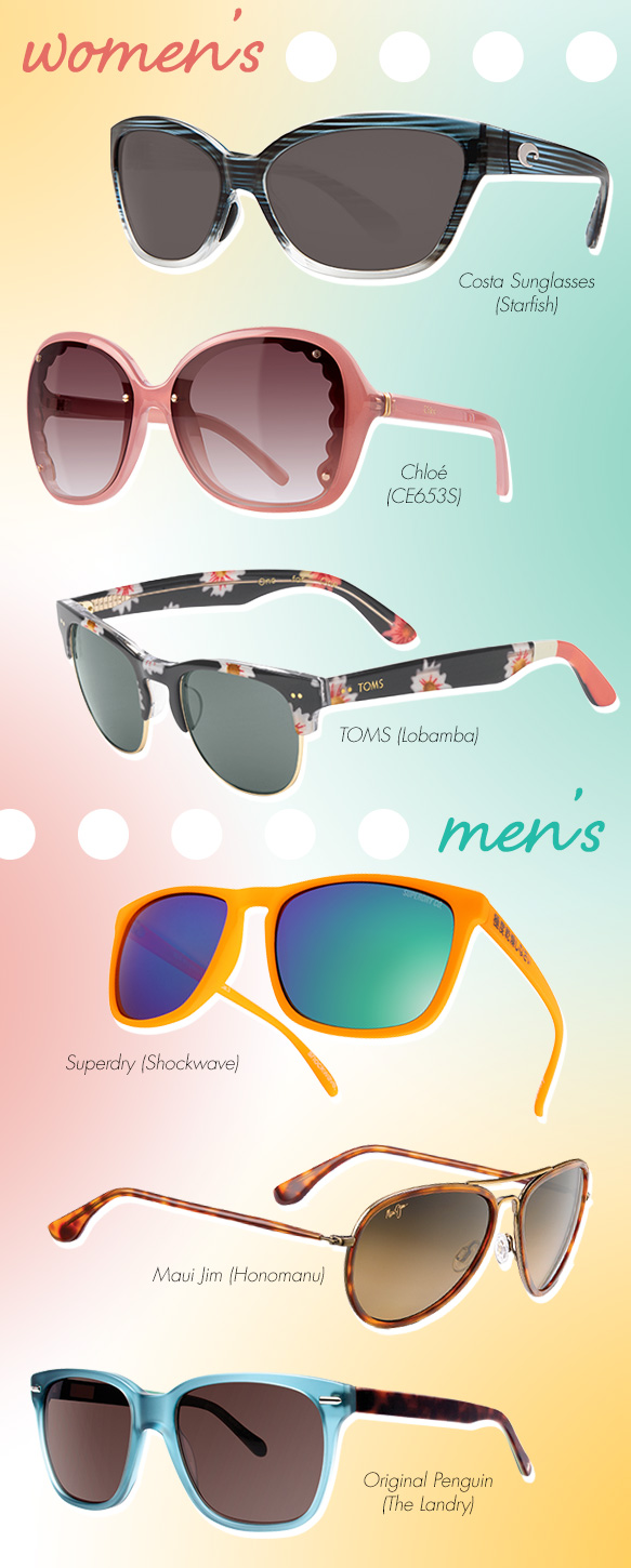 Summertime Sunnies for National Sunglasses Day