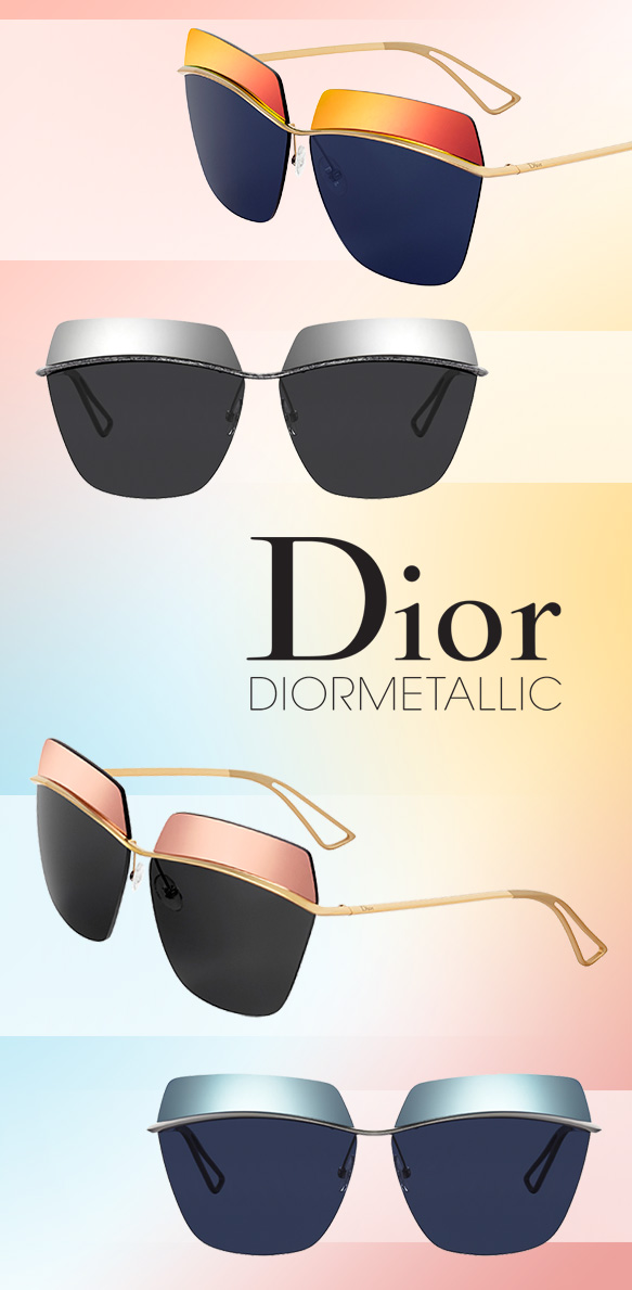 Dior (Dior Metallic) in varying colorations