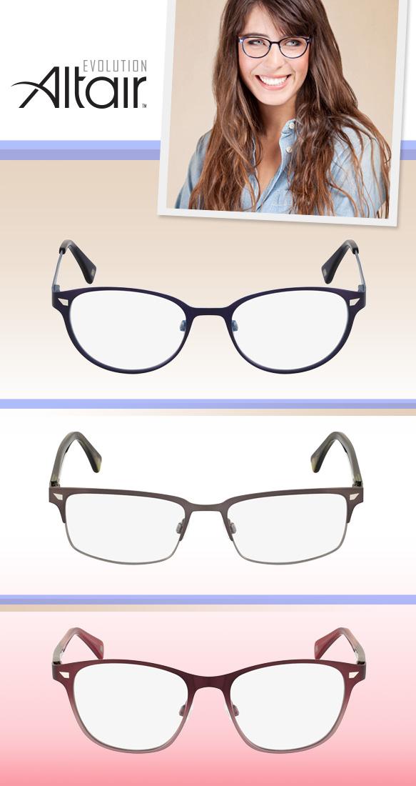 Altair Eyewear (A5026), Altair Eyewear (A4033), Altair Eyewear (A5027)