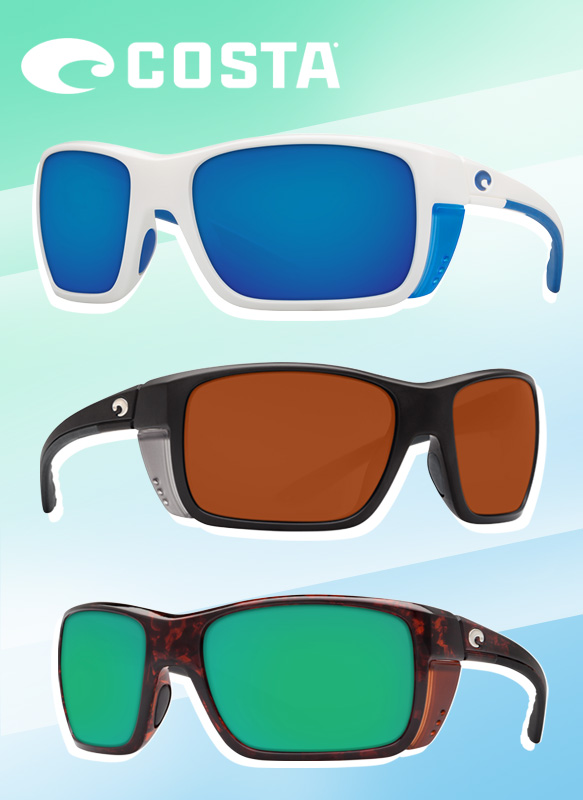 Costa Sunglasses (Rooster) in varying colorations