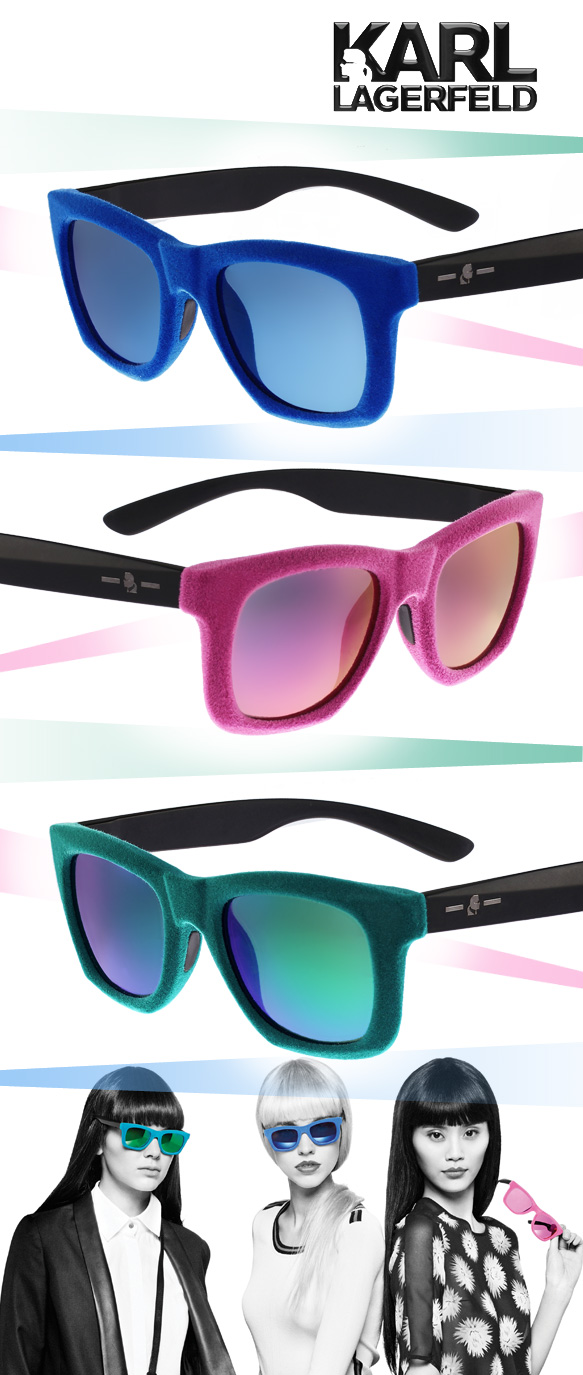 Karl Lagerfeld (KL003S) in varying colorations