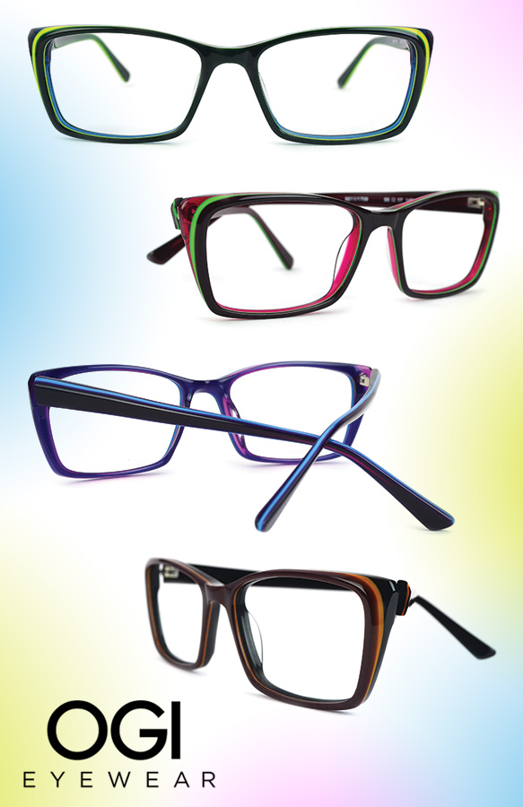 Ogi Eyewear (9211) in varying colorations