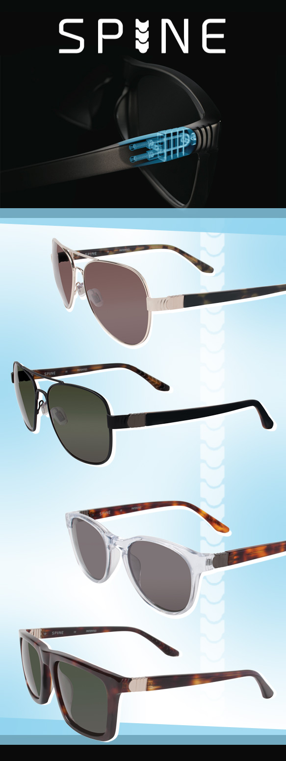 SPINE Eyewear (SP4001), SPINE Eyewear (SP4002), SPINE Eyewear (SP3003), SPINE Eyewear (SP30034)