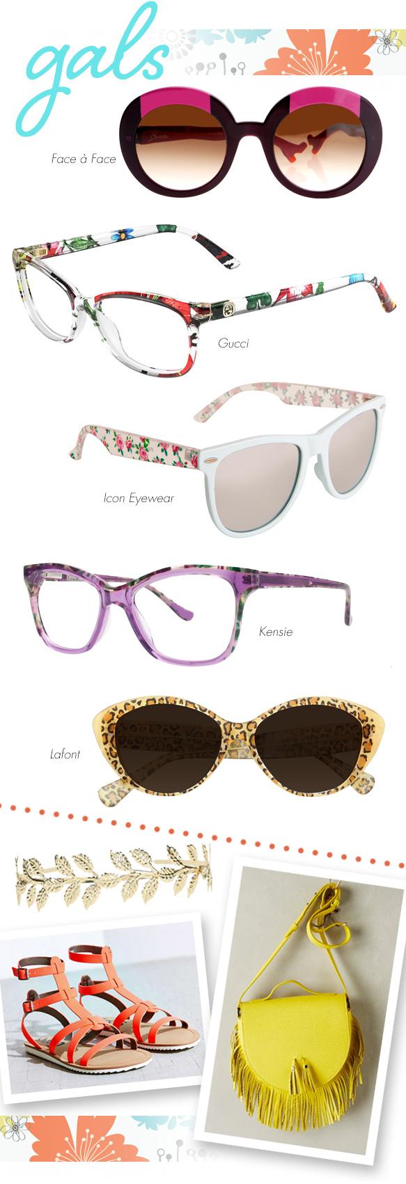 Face à Face (BoccaLova2), Gucci (GG 3699/N), Icon Eyewear (11003), kensie (Downtown), Lafont (PORQUEROLLES)
