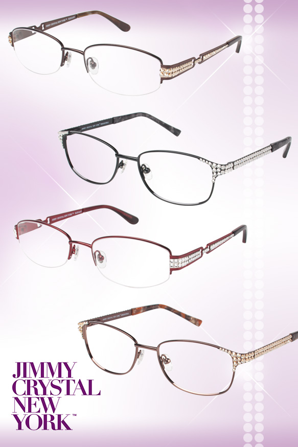 Jimmy Crystal New York (Elegant), Jimmy Crystal New York (Irresistible) in varying colorations