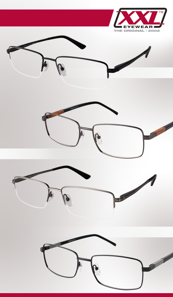 XXL Eyewear (Captain), XXL Eyewear (Pioneer) in varying colorations