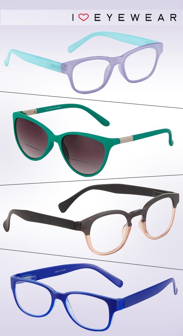 I Heart Eyewear (Sorbet), I Heart Eyewear (Natasha), I Heart Eyewear (Asher), I Heart Eyewear (Delta)