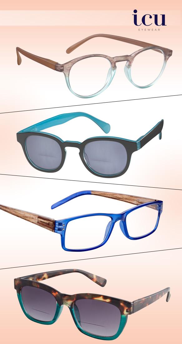 ICU Eyewear (Laredo), ICU Eyewear (Gearhart), ICU Eyewear (Stockholm), ICU Eyewear (Diana)