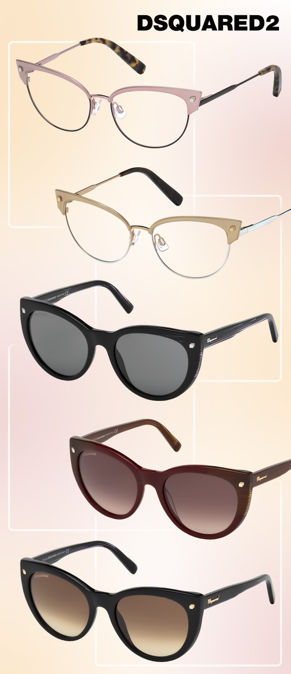 Dsquared2 (DQ5172), Dsquared2 (DQ0180) in varying colors