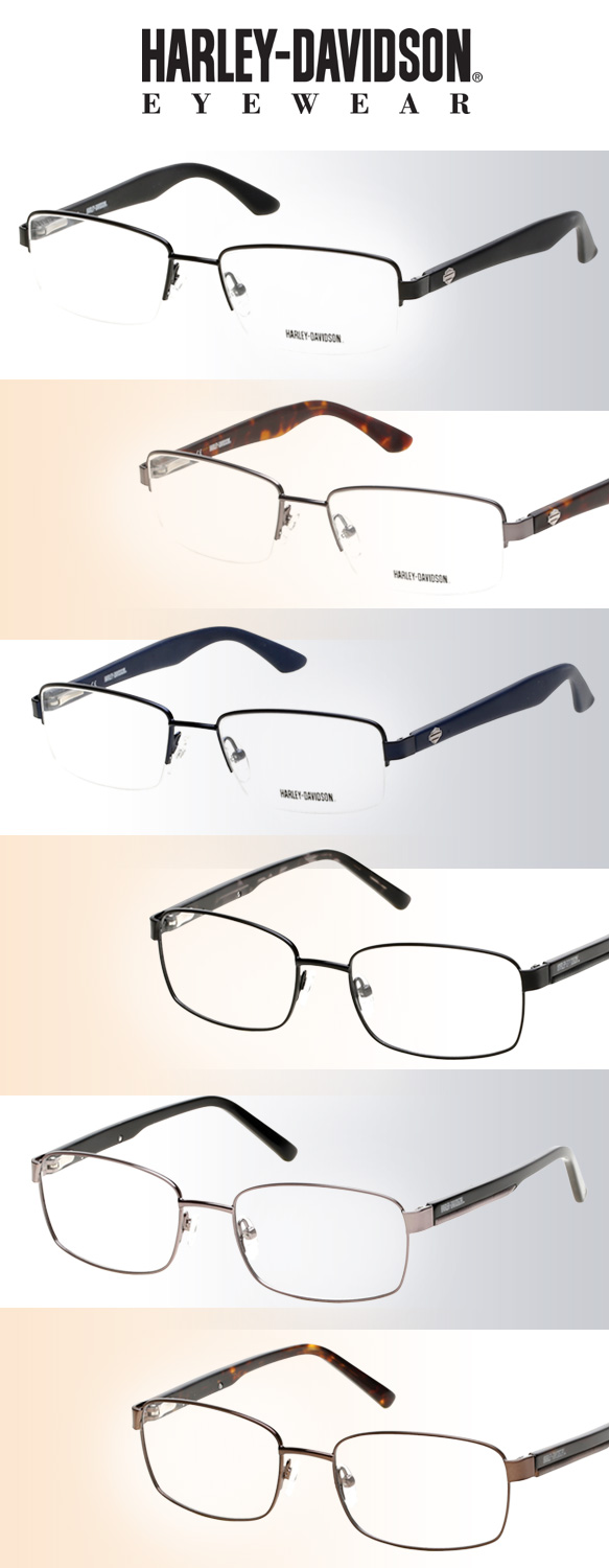 Harley-Davidson Eyewear (HD0731), Harley-Davidson Eyewear (HD0732) in varying colorations