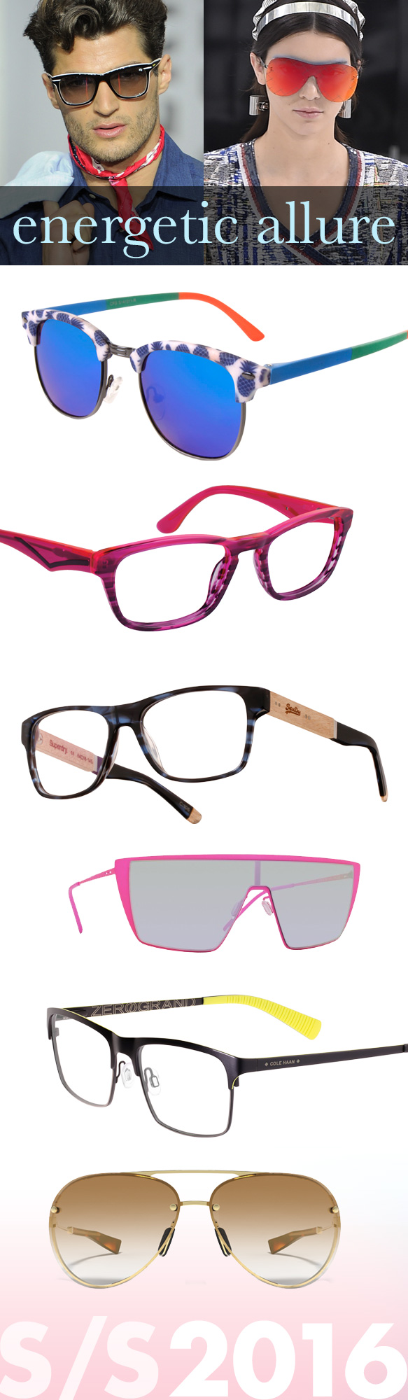 Icon Eyewear (40040), Cantera (Pitch), Superdry (Oxley), Italia Independent (0215), Cole Haan (CH4010), Under Armour (Double Down)